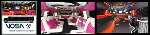 The interiors of our Hummers