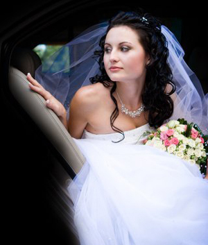 Wedding Cars - the bride