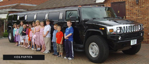 Hummers with school Prom Group